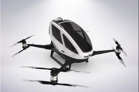 EHANG promet de circuler en drone bientôt