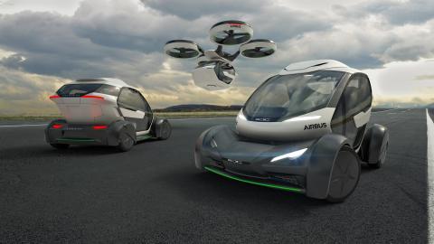 Airbus présente Pop Up, son concept de Drone Volant