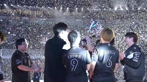 Samsung Galaxy gagne le titre mondial LoL 2017