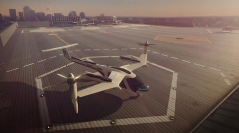 Uber et la NASA co-conçoivent des taxis volants