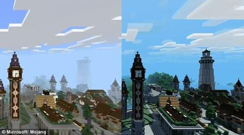 Minecraft : sortie du Super Duper Graphics Pack
