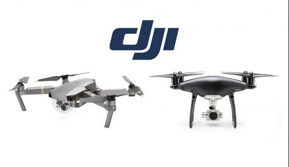 DJI dévoile ses nouveaux Phantom 4 et Mavic Pro